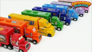 Download Disney Cars Toy Trucks Color Learning Video for Kids! Video