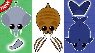 Download 3 NEW ANIMALS & ABILITIES IN MOPE.IO! Elephant, Blue Whale & Sabertooth tiger! (Mope.io New Update) Video