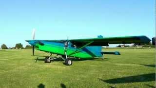 Download Pilatus PC6 Turbo Porter Start up and impressive Take-off Video