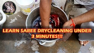 Download Saree | How To Dry Clean At home In Hindi | Industrial Petrol | Radhe Radhe Drycleaners Video