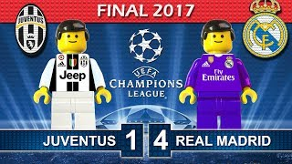 Download Champions League Final 2017 • Juventus vs Real Madrid • Lego Football Film Highlights Video