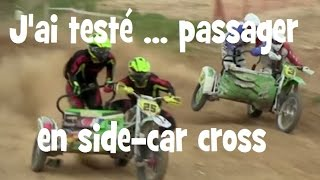Download PASSAGER EN SIDE CAR CROSS ► UNE TORTURE ► lolo cochet moto Video