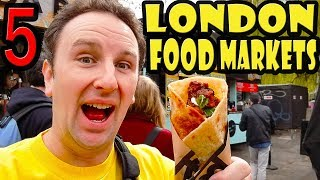 Download 5 Best London Food Markets Video