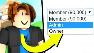 Download PRETENDING TO BE A HIGH RANK IN ROBLOX GROUPS Video
