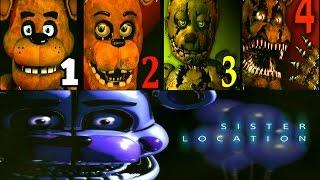 Download Five Nights at Freddy's: Sister Location FNAF 1 2 3 4 Jumpscares Simulator Video