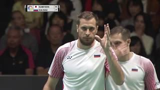 Download Daihatsu Yonex Japan Open 2017 | Badminton QF M2-MD | Kam/Son vs Iva/Soz Video
