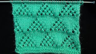 Download 145- Triangle Net Knitting Design Video