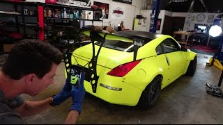 Download TJ's Widebody 350Z PERFECT fitment (Spacers Installed) Video