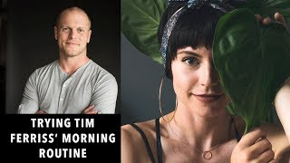 Download I tried Tim Ferriss' Morning Routine for 7 days | Sorelle Amore Video