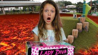 Download The Floor Is Lava Challenge | OMG LOL Surprise Video
