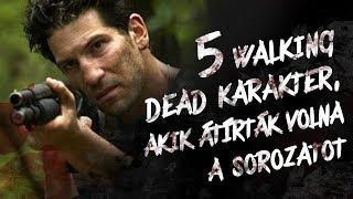Download 5 WALKING DEAD karakter, akik ÁTÍRTÁK VOLNA a sorozatot Video