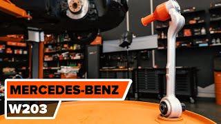 Download Så byter du främre nedre länkarm på den främre upphängningen på MERCEDES-BENZ C W203 [GUIDE] Video