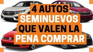 Download 4 AUTOS SEMINUEVOS que debes considerar a COMPRA | Motoren Mx Video