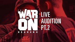 Download TWIO2 : LIVE AUDITION PT.2 | RAP IS NOW Video