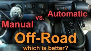 Download Manual vs Automatic Off-road Video