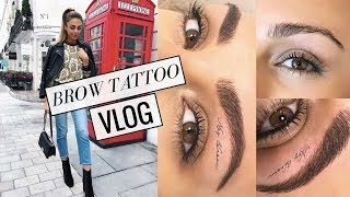 Download A WEEKEND IN LONDON & TATTOOING MY EYEBROWS! VLOG #7 | Annie Jaffrey Video