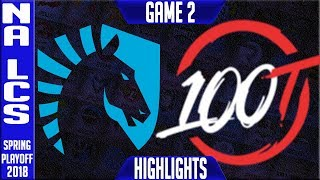 Download TL vs 100 Highlights Game 2 | NA LCS Grand Final Playoffs Spring 2018 Team Liquid vs 100 Thieves G2 Video