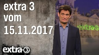 Download Extra 3 vom 15.11.2017 | extra 3 | NDR Video