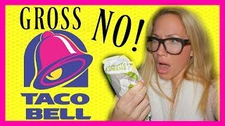 Download NASTIEST TACO BELL EXPERIENCE (LIVE FOOTAGE) Video