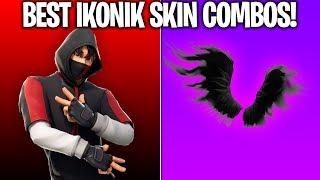 Download 10 BEST 'IKONIK SKIN' COMBOS! (These combos are SUPER RARE!) Fortnite Ikonik Skin Video