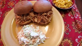 Download Slow Cooker Sunday: Zesty Barbecued Chicken Sandwiches Video
