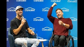 Download When Daniel Ricciardo and Dylan Alcott visited the carsales office Video