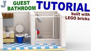 Download LEGO Guest Bathroom TUTORIAL Video