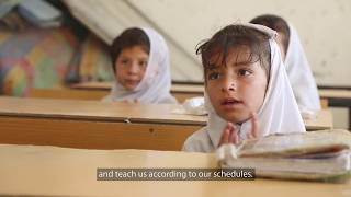 Download Improved Schools Increase Girls' Education Enrollment in Afghanistan Video