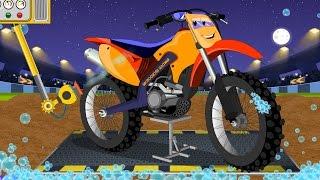 Download Motocross Bike | Childrens Cartoon | Car Video For Kids Video