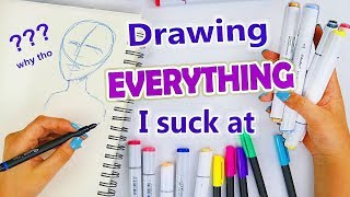 Download Drawing Stuff I'm TERRIBLE At (circles, illustration.. the list goes on) Video