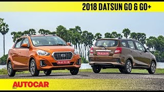 Download 2018 Datsun Go & Go+ facelift | First Drive Review | Autocar India Video