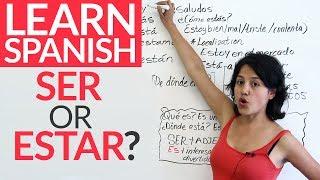Download Ser or estar? [Speaking Spanish] Video