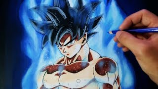 Download Cómo Dibujar a Goku Migatte no Gokui/Ultra Instinct (Doctrina Egoísta) | Dragon Ball Super Video