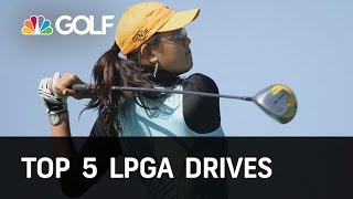 Download Top 5 LPGA Drives of All Time | Golf Channel Video