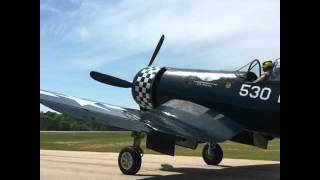 Download Thom Richard's First Flight in the CAF Corsair Video