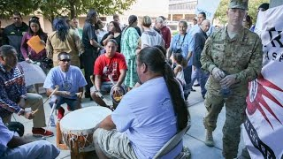 Download Veterans to Serve as ″Human Shields″ for Dakota Pipeline Protesters Video