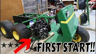 Download THE NEW GATOR ENGINE RUNS!! *POWER* Video
