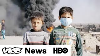 Download ISIS Sets Fire to Oil Wells in Qayyarah: VICE News Tonight (Full Segment) Video
