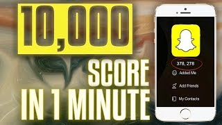 Download How To INCREASE Snapchat SCORE! MUST TRY! iOS 10 / 11 (No Computer / No Jailbreak) Video