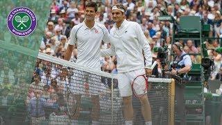 Download Roger Federer vs Novak Djokovic - best points at Wimbledon Video