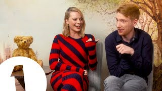 Download ″Have you ever heard anything like it?!″: Margot Robbie on Domhnall Gleeson's armpit farts Video