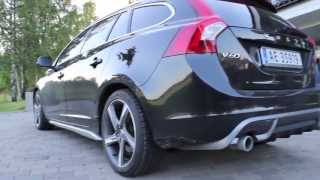 Download 2013 Volvo V60 D2 R-design Special edition in details (Full HD 1080p) Video