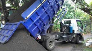 Download Truk Dam muatan PASIR terlalu.... Video