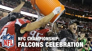 Download Best of Falcons NFC Championship Celebration | NFL Video