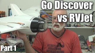 Download Go Discover versus RVJet FPV wing RC planes (part 1) Video