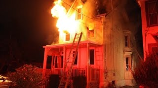 Download House fire in Lansdowne 96 Nyack 12 5 2016 Video