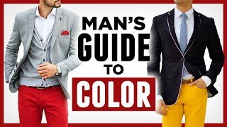 Download A Man's Guide To Color -10 Tips To Better Leverage Color In Your Wardrobe Video