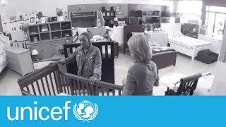 Download A trip to the furniture store these parents won't forget | UNICEF Video
