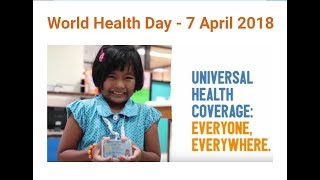 Download World health day - theme and slogan Video
