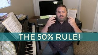 Download HOW TO PRACTICE SLOWLY ~ The 50% Rule Video